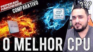 O MELHOR CPU CxB - Comparativo R5 3600x, R5 3600, R5 2600, I5 9400F, I5 9600K e I7 8700k - 27 Testes