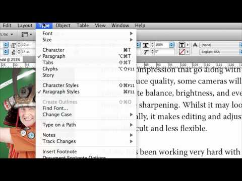InDesign Fixing Widows And Orphans (No. 84)