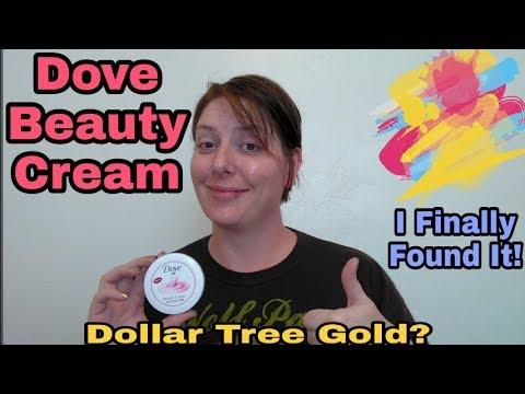 Dove Beauty Cream: Dollar Tree Gold?