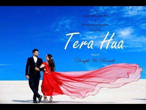 TERA HUA   PRE WEDDING SHOOT   2019   DIMPLE ❤️ RONAK   KUTCH   Book Our Photographer