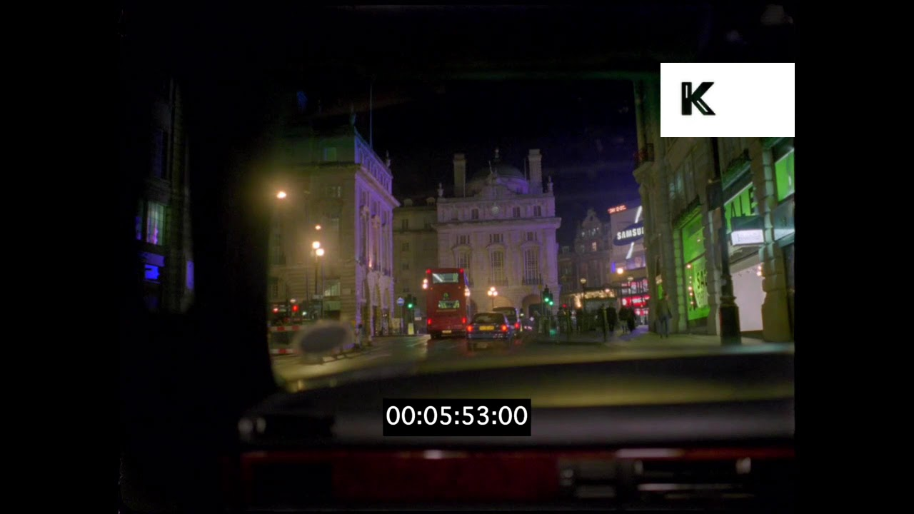 2003 Piccadilly Circus Driving Povs London At Night Hd Youtube
