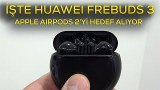 Huawei FreeBuds 3 kulaklık mercek altında | Tam donanımlı ve AirPods 2'ye rakip
