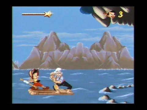 Pinocchio SNES Walkthrough Gameplay Ending Super Nintendo