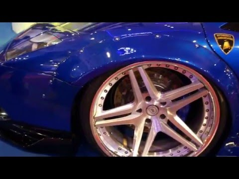 Supercars, Sports Cars at Manila International Auto Show (MIAS) 2016