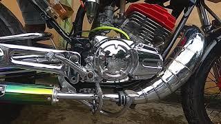 Knalpot RX King Lobster Chrome Full Cacing Silincer Pelangi  Super Garing, WA. 085802453332