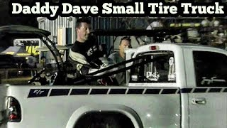 Daddy Dave in a Small Tire Truck vs Flaco at Armageddon No Prep