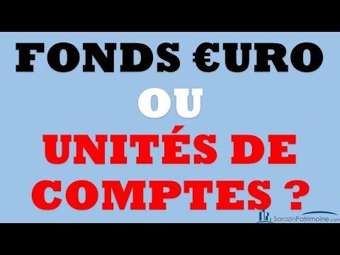 Quelle Différence Entre Les Fonds Euro et Unités De Comptes