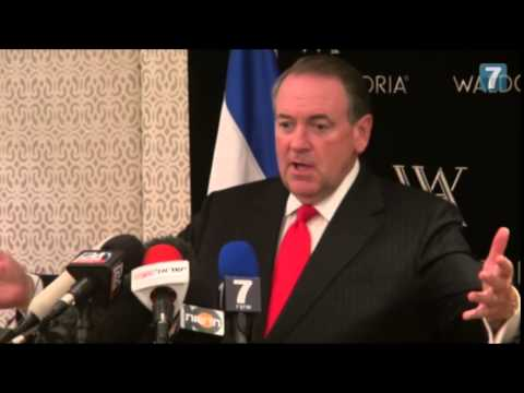 Mike Huckabee in Jerusalem