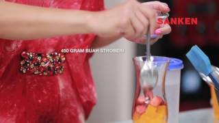 Resep Buka Puasa - SUNSET ICE - Filler Ramadhan Sanken - Farah Quinn