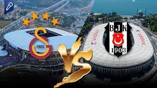 En Görkemli Futbol Stadyumu Hangisi? BJK Vodafone Park mı, GS Türk Telekom Stadyumu mu?