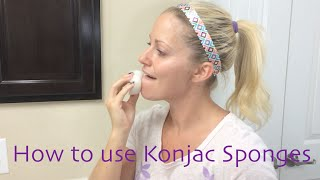 How to use Konjac Sponges Thumbnail