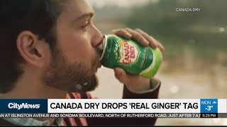 Business Report: Canada Dry drops 'real ginger' tag