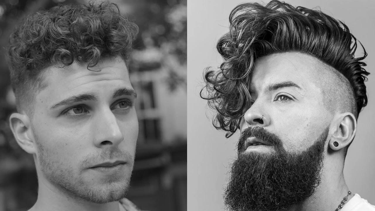 Peinados Y Cortes Para Hombres Con Cabello Rizado Youtube - Cortes-de-pelo-rizado-hombre