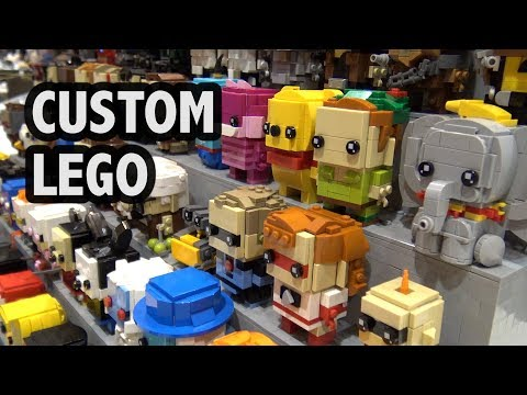 Custom Pop Culture LEGO BrickHeadz  Bricks by the Bay 2018