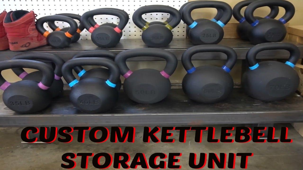 Custom Made Kettlebell Rack