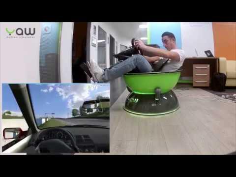 Yaw VR: Portable & Immersive Gaming Simulator
