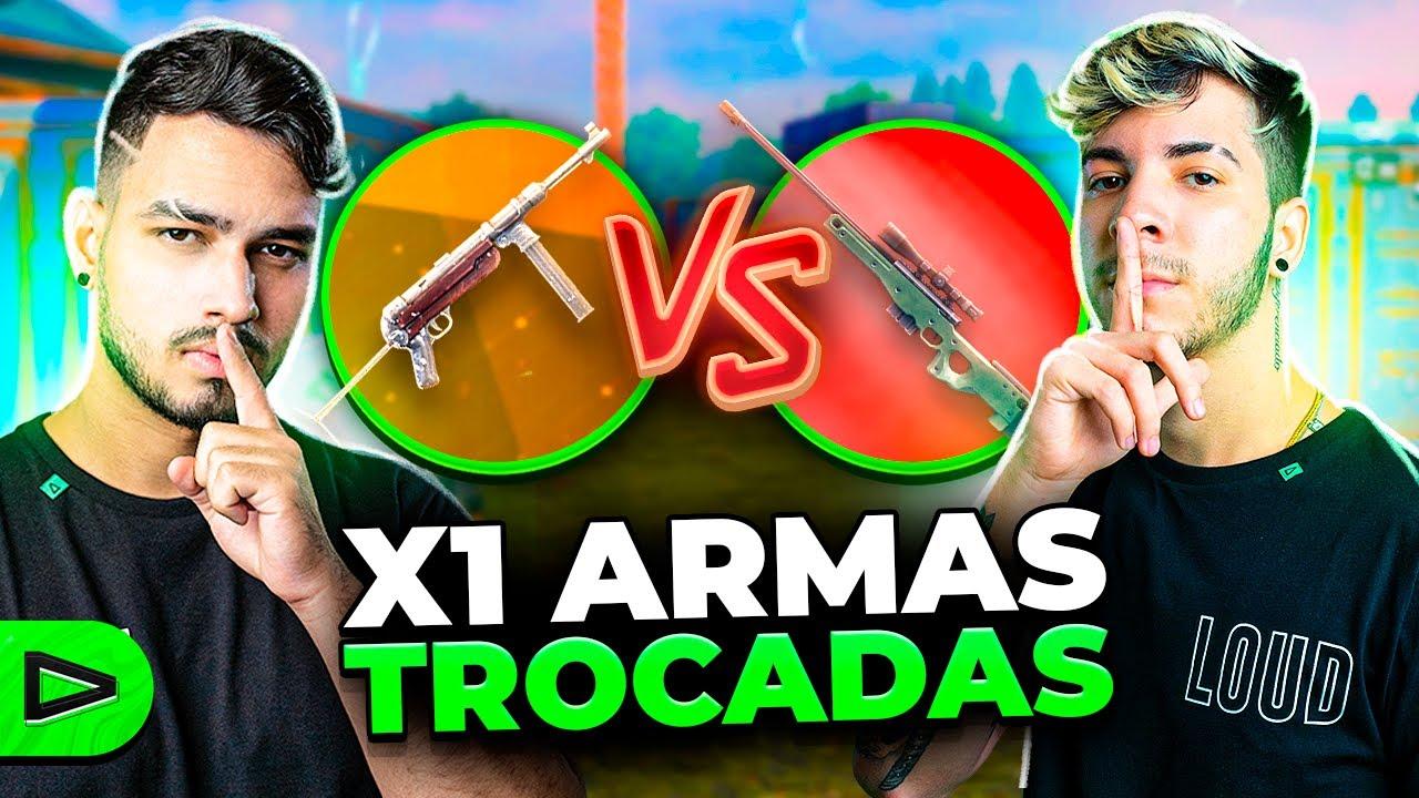 X1 DOS PRÓ LZINN VS JORDAN COM ARMAS TROCADAS!
