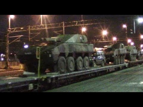 Secret military trains November 2017 - Suomi Finland 100 special video