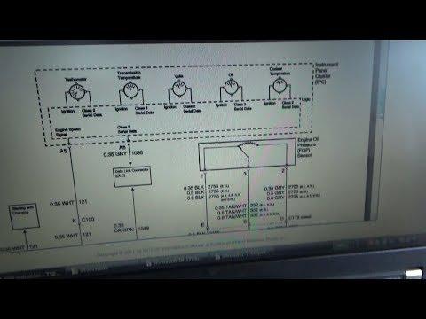 GM Truck: Oil Pressure Gauge Sensor Low P0522