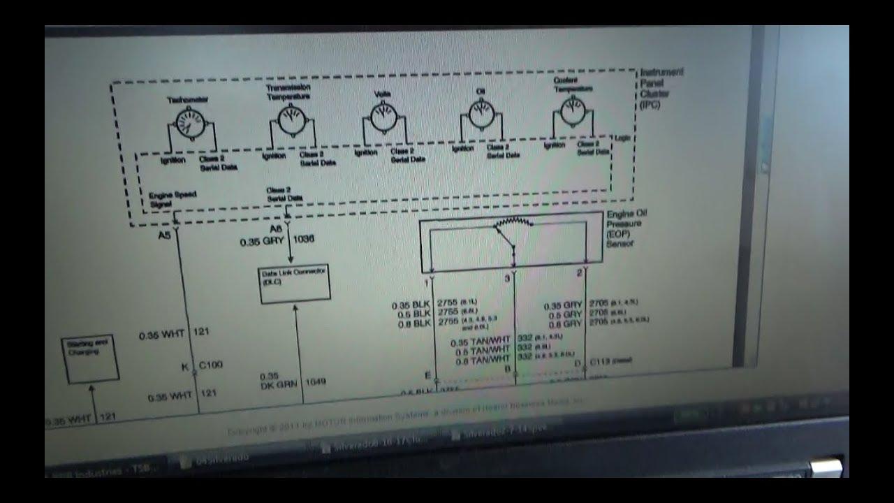 hight resolution of gm truck oil pressure gauge sensor low p0522