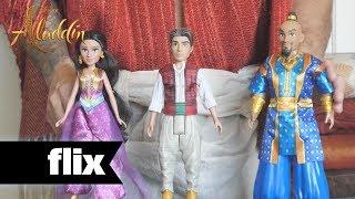Aladdin - New Toys: Aladdin, Jasmine & Genie
