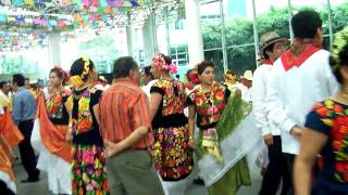 """La Sandunga"" (Mayordomía) Grandiosa Vela Tehuantepec Oaxaca 12 Julio 2009"