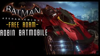 Batman Arkham Knight: DLC Robin (Red Bird) BATMOBILE Skin & LORE