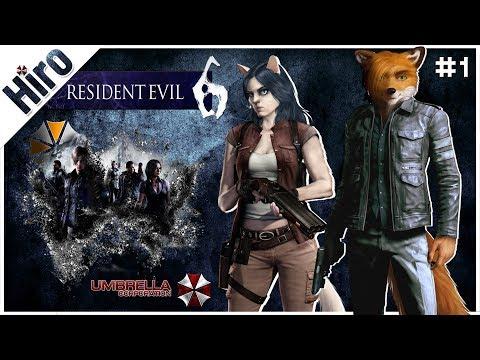 «Resident Evil 6» —  УЖАСЫ НАШЕГО ГОРОДКА / #1
