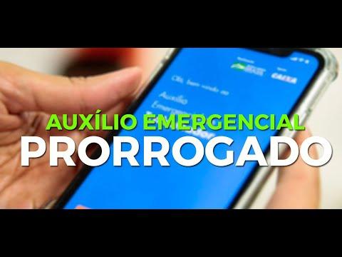 AGORA Bolsonaro Prorroga Auxílio Emergencial................................olhocerto