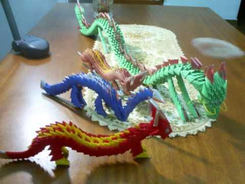 Origami Dragon | origami dragon tutorial 3d modular origami dragon ... | 360x480