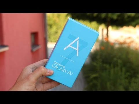 Unboxing: Samsung Galaxy A7 (Deutsch) | SwagTab