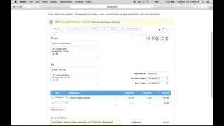 Free Printable Invoice Template Generator |  Aynax.com