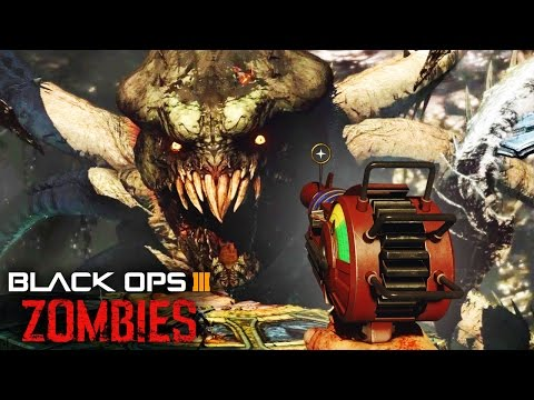 Black Ops 3 Zombies - GIANT MONSTER Easter Egg! Zombie Boss