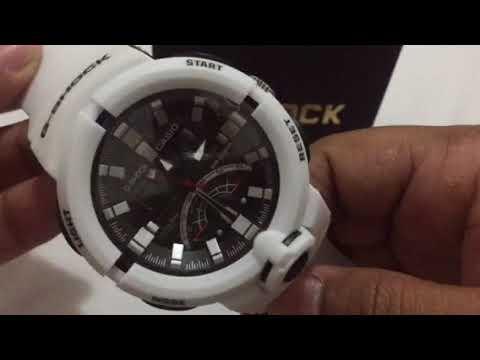 28ded968731 Relógio Casio GSHOCK Branco - YouTube