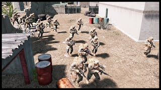 HUGE RIVER CROSSING ASSAULT! Massive Cover & Advance Maneuver - Squad Ops Gameplay
