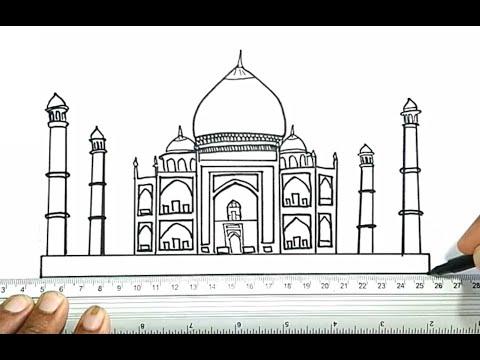 How to Draw the Taj Mahal