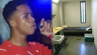 Tay K Destroys His Phone In Jail After Police Find It