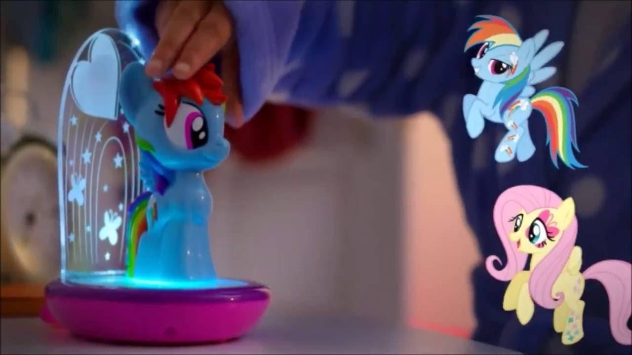 My Little Pony Rainbow Dash Go Glow Night Light Commercial