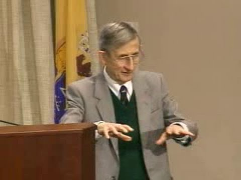 """Freeman Dyson posits """"QM cannot be a complete description of nature"""" @ J.A. Wheeler's 90th birthday"""