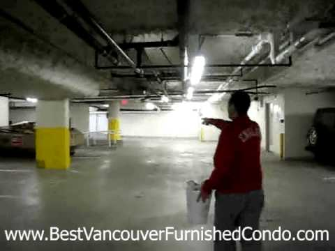 Where Is The Garbage & Recycling Downtown Vancouver, BC Luxury Furnished Condo Monthly Rental
