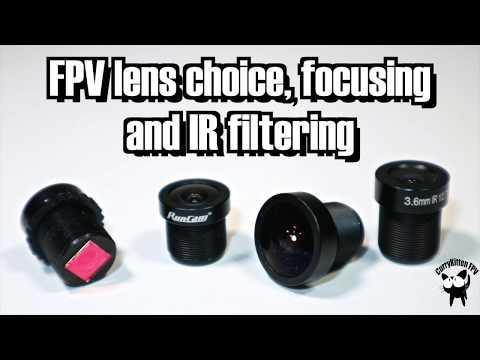 FPV Lenses: Focusing, FOV comparison and IR Filtering