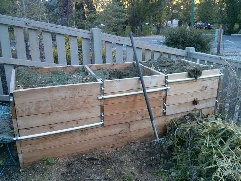 How To Make A Compost Bin - Timelapse