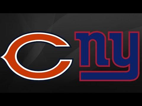 Chicago Bears Vs New York Giants Week 13 Highlights 12 2 18
