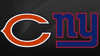 Chicago Bears vs New York Giants Week 13 Highlights (12/2/18)