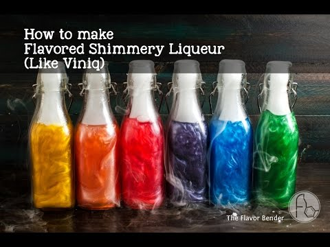 How to make homemade viniq infused flavored shimmery for How to make flavored martinis