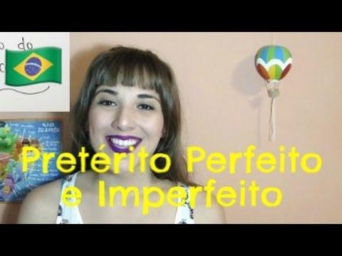 Pretérito Perfeito e Imperfeito do Indicativo em Português   Brasileirices