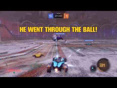 THE WORST GLITCH ON ROCKET LEAGUE EVER!!! (funny/intense) featuring joe nathan & saenzkickass2