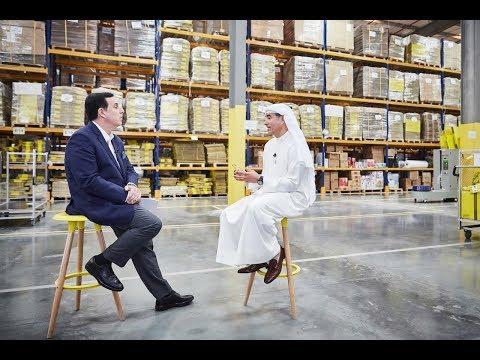 noon Founder Mohamed Alabbar talks to CNN about e-commerce in the Middle East