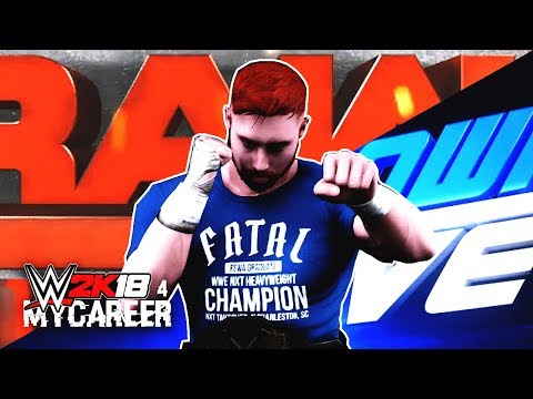 WWE 2K18 My Career Mode Ep 4 - Raw Or Smackdown?! Last NXT Show!