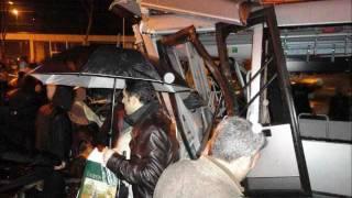 Hacışerif durağı metrobüs kazası